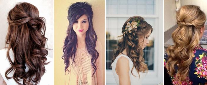 Прически для подружки невесты на средние волосы