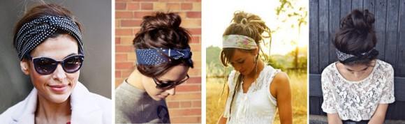 Разные шарфы и способы их повязать на голову