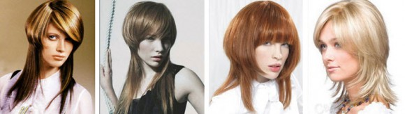 """Прически """"Шапочка"""" для средних волос"""