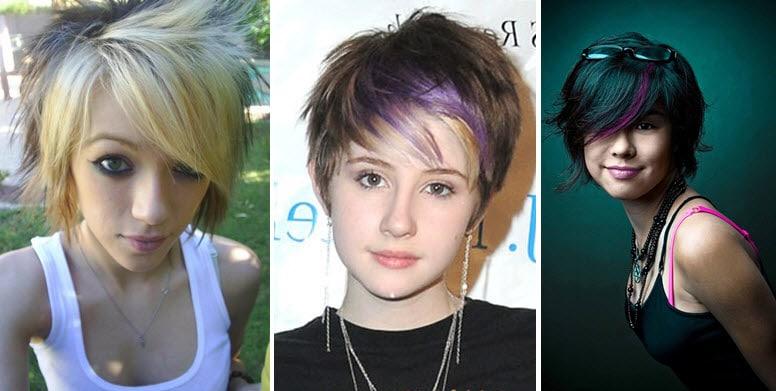 Стрижки на средние волосы для подростков девочек