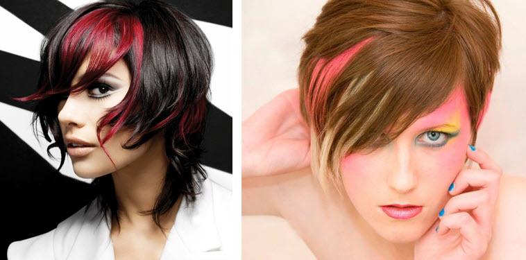 причёска на коротких волосах картинки