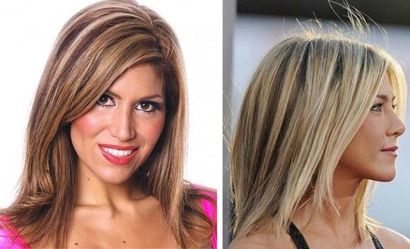 Обратное мелирование для русых волос