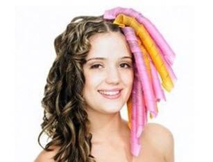 """Волосы, накрученные на бигуди """"Золотые локоны"""""""