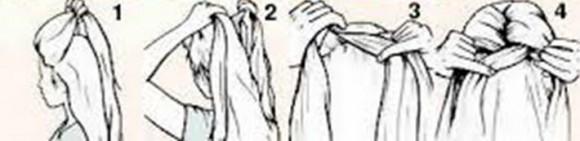 Процесс плетение французской косы