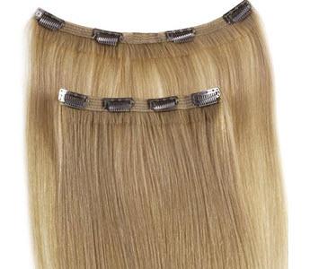 Накладные натуральные волосы на заколках
