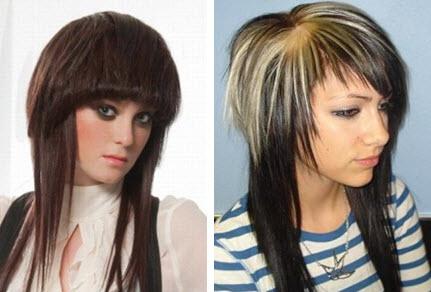 Оформление стрижка шапочка на длинные волосы