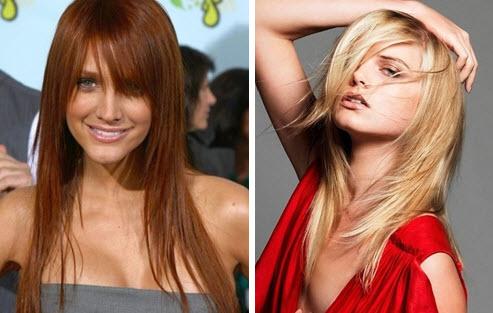 Стрижки для длинных тонких волос