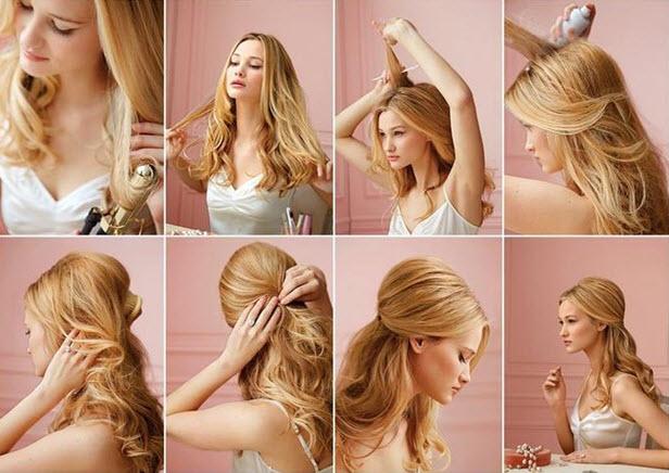 Прическа на фотосессию своими руками на длинные волосы
