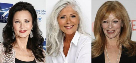 Прически на длинные волосы для женщин в возрасте