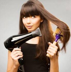 Выпрямление волос термическим способом